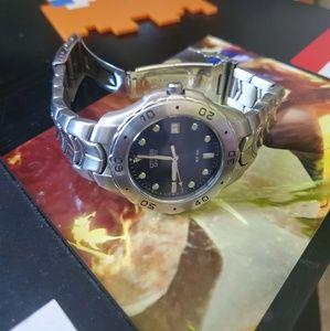 Stainless Steel Citizen Quartz Mens Wrist Watch